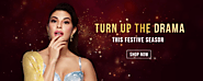 Colorbar presents Jacqueline Fernandez in iconic festive Loos. Turn up the drama with us.