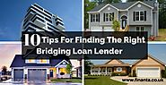 Finding Right Bridging Loan lender