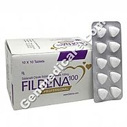 Fildena Professional | Buy Sildenafil Citrate Sublingual Tablets 100mg