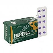 Buy Fildena 25 mg Online | Fildena 25 mg Reviews, Get up to 50% Off