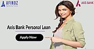 Apply Axis Bank Personal Loan at Afinoz platform and get 1% cashback - Best Finance Help