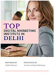 Best Digital Marketing Course in Delhi | PDF