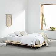 Platform beds have modern and not sophisticated style