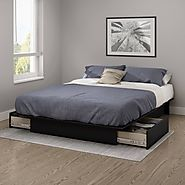 What is a king size platform bed?