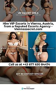 Independent Escorts Vienna : Hire High Profile Girls Today