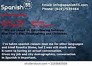 Get ready for online Spanish lessons.