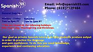 Online Spanish Tutor | Spanish55 Private Spanish tutoring