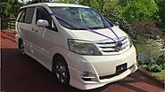 Toyota Alphard Rental With Chauffeur For Your Wedding