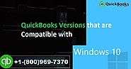 Supported Versions of QuickBooks that are Compatible on Windows 10?