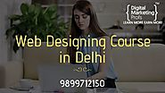 Best Web Designing Institute in Delhi