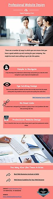 Professional Website Design | Infographic