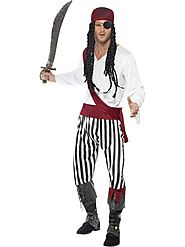 Adult Pirate Man Fancy Dress Costume at Cheaper Rates in UK