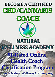 Become A Certified CBD/Cannabis Coach