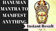 HANUMAN DASHAKSHARI MANTRA | MANIFEST ANYTHING | VERY POWERFUL