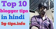 Top 10 blogger tips in Hindi (2019) | quickly rank blogspot blog ~ HelpForHindi - internet ki puri jankari Hindi me