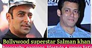 Bolly Tab - Bollywood News, Upcoming Movies, Actors Biography: Salman Khan Biography: Lifestyle, Careers, Awards Winn...