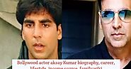 Bolly Tab - Bollywood News, Upcoming Movies, Actors Biography: Akshay Kumar Biography, Career, Lifestyle, Income, Awa...