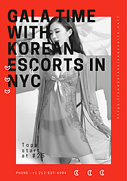 Gala Time with Korean Escorts in NYC