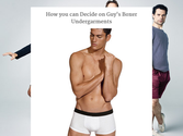 How you can Decide on Guy's Boxer Undergarments