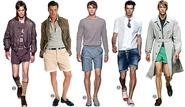 Choosing a Set of Male's Shorts