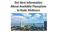 Get Best Information About Available Floorplans In Hyde Midtown