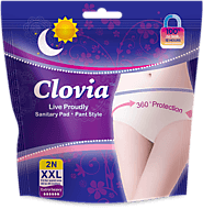 Clovia Period Pants - Pant Style Sanitary Pads, Disposable period Pants, Leak Proof Period Panties