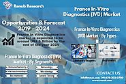France In Vitro Diagnostics market is expected to be around US$ 5 Billion by 2024