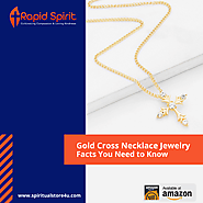 Gold Cross Necklace Jewelry - Facts You Need to Know
