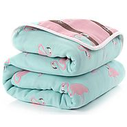 SOFT and WARM 6 Layer Thick Baby Blanket for Newborn – ShoppySanta