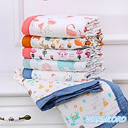 TRENDY 6 Layers Super Soft Cotton Muslin Baby Blanket – ShoppySanta