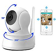 MOST POPULAR Two Way Audio HD 720P Wireless Mini Camera with Night Vision Baby Monitor