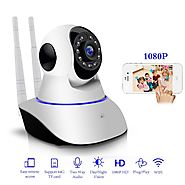 Eye Catching & Smart 1080P Wireless Night Vision Baby Monitor CCTV Cam – ShoppySanta