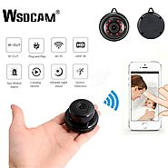 SUPER COOL Mini Wifi 1080P IP Infrared Night Vision Motion Detection SD Card Slot Camera