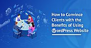 Benefits of WordPress: Convince Clients for CMS Website - KrishaWeb