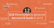 Top 12 B2B Directories to Generate Quality Leads in 2019 - KrishaWeb