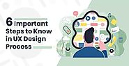UX Design Process: 6 Important Steps for Successful Website - KrishaWeb
