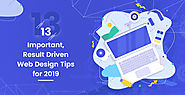 Website at https://www.krishaweb.com/13-important-result-driven-responsive-web-design-tips-and-practices-for-2019/