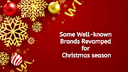 Some Well-known Brands Revamped For Christmas Season | GB Logo Design
