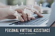 What are the benefits you get by hiring a personal virtual assistant?