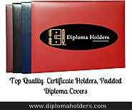 Shop for Certificate Holders, Diploma Covers & Diploma Holders