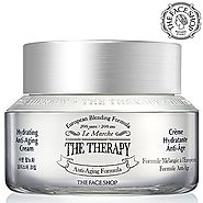 Anti Aging Cream with Hydration, [The Therapy] Anti Wrinkle Moisturizer Cream with Premium European Natural Botanical...
