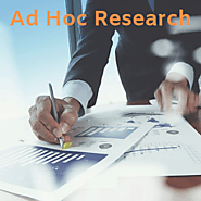Ad Hoc Research | Quick Delivery | 10 Industries