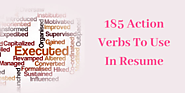 185 Powerful Verbs for Resume to Make Your Resume Stand Out | CV Enhancer