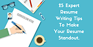 Expert Resume Writing Tips To Take You Closer To Your Dream Job - CV Enhancer