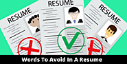 30 Words To Avoid In A Resume - CV Enhancer