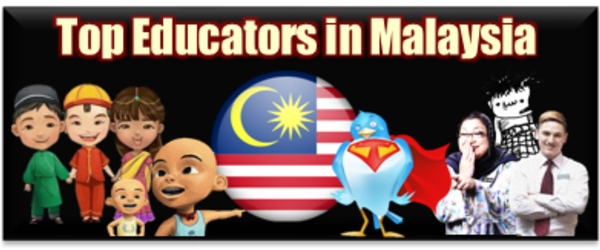 Headline for Top Educators in Malaysia on Twitter
