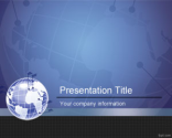 Global Partner PowerPoint Template | Free Powerpoint Templates