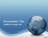 Globe Tech PowerPoint Template | Free Powerpoint Templates