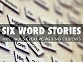 """Six Word Stories 2013"" - A Haiku Deck by Leah Paul"