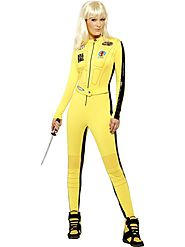 Women's Kill Bill Vol.1 & Vol.2, The Bride Fancy Dress Costume | Fancy Panda